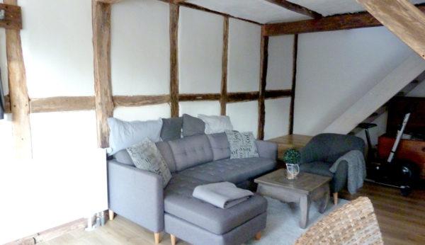 Wohnbereich im Gästehaus