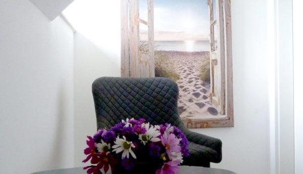 Flur im Gästehaus