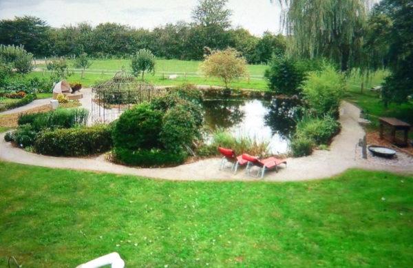 Garten am Gästehaus Innere Ruhe