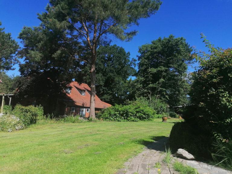 Gästehaus von der Gartenseite